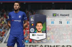 Tiền vệ cánh trái Eden Hazard