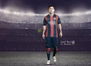 Tiền vệ cánh trái Lionel Messi SS14